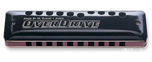 Suzuki Overdrive MR-300 Harmonica - Select key